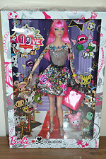 2015 Black Label 10th Anniversary Pink Hair TOKIDOKI Barbie NEW Slight Dmgd Box