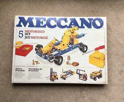 Meccano 1978/9 Set No 5 100% Complete used