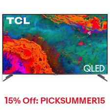 "TCL 50"" 5-Series 4K QLED Dolby Vision HDR Smart Roku TV"