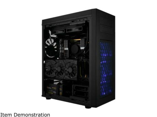 Rosewill ATX Full Tower Gaming PC Computer Case with Blue LED Fans EATX Support