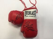 Autographed Mini Boxing Gloves Carl Frampton