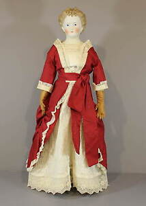 ANTIQUE-GERMAN-PARIAN-DOLL-C-F-KLING-amp-CO
