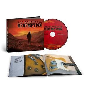 JOE-BONAMASSA-REDEMPTION-DELUXE-HARDCOVER-DIGIBOOK-EDITION-CD-NEU