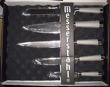 Messerstahl 5 Piece Gourmet Cutlery Set with Sharpener