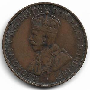 Britain-State-of-Jersey-One-Twelfth-Of-A-Shilling-K-G-V-Coin-1923