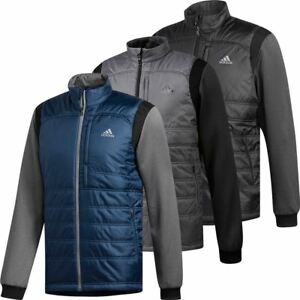 pretty cheap best selling clearance sale Details about adidas Golf 2019 Mens ClimaHeat Frostguard Primaloft Full Zip  Golf Jacket