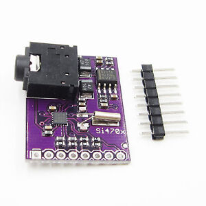 Comimark 1Pcs Breakout Board Si4703 FM RDS Tuner for AVR ARM PIC Arduino Compatible