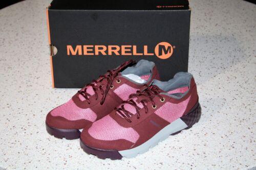 NWB Merrell SOLO AC Classic Air Cushioned Comfort Women/'s Sneakers ~Rouge Moyen