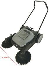 Floor Sweeper Manual Push Cleaner Machine Cordless Powerless 413 Width