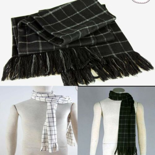 Original fairy tail naz black and white scarf Cosplay thickening Accessories