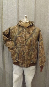 2f9a8e344edc7 Vtg NEW Mossy Oak Original Tree Stand Camo Duck Cotton Canvas Jacket ...