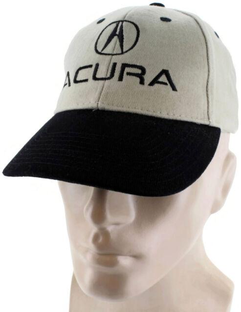 Acura Black Khaki Baseball Cap Trucker Hat Snapback NSX RSX TL EBay - Acura hat