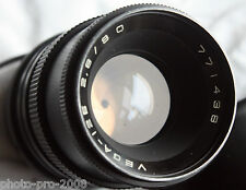 Canon EF EOS Mount RUSSIAN VEGA 12B 90MM 2.8.Medium Format portrait LENS 5d 7 60