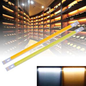 10W-COB-LED-LAMPADA-12-13V-1000LM-LUCE-BIANCO-CALDO-PER-DIY-200x10mm