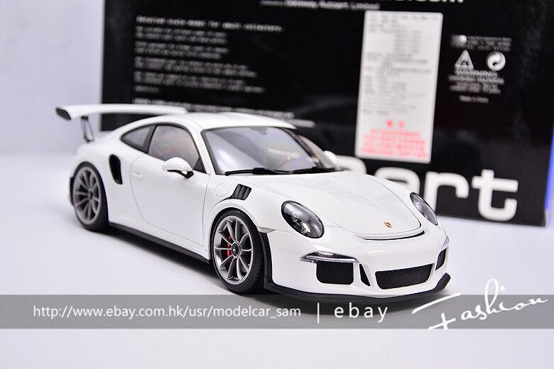AutoArt 1 18 PORSCHE 911 (991) GT3 RS White