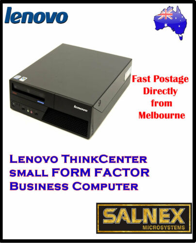 1 of 1 - Lenovo ThinkCentre 57M Desktop Computer 2GB RAM,160GB HDD, Windows 7