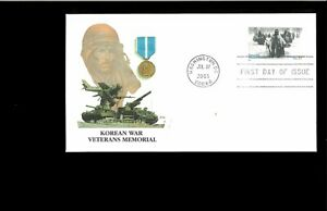 2003-FDC-Korean-War-Veterans-Memorial-Washington-DC