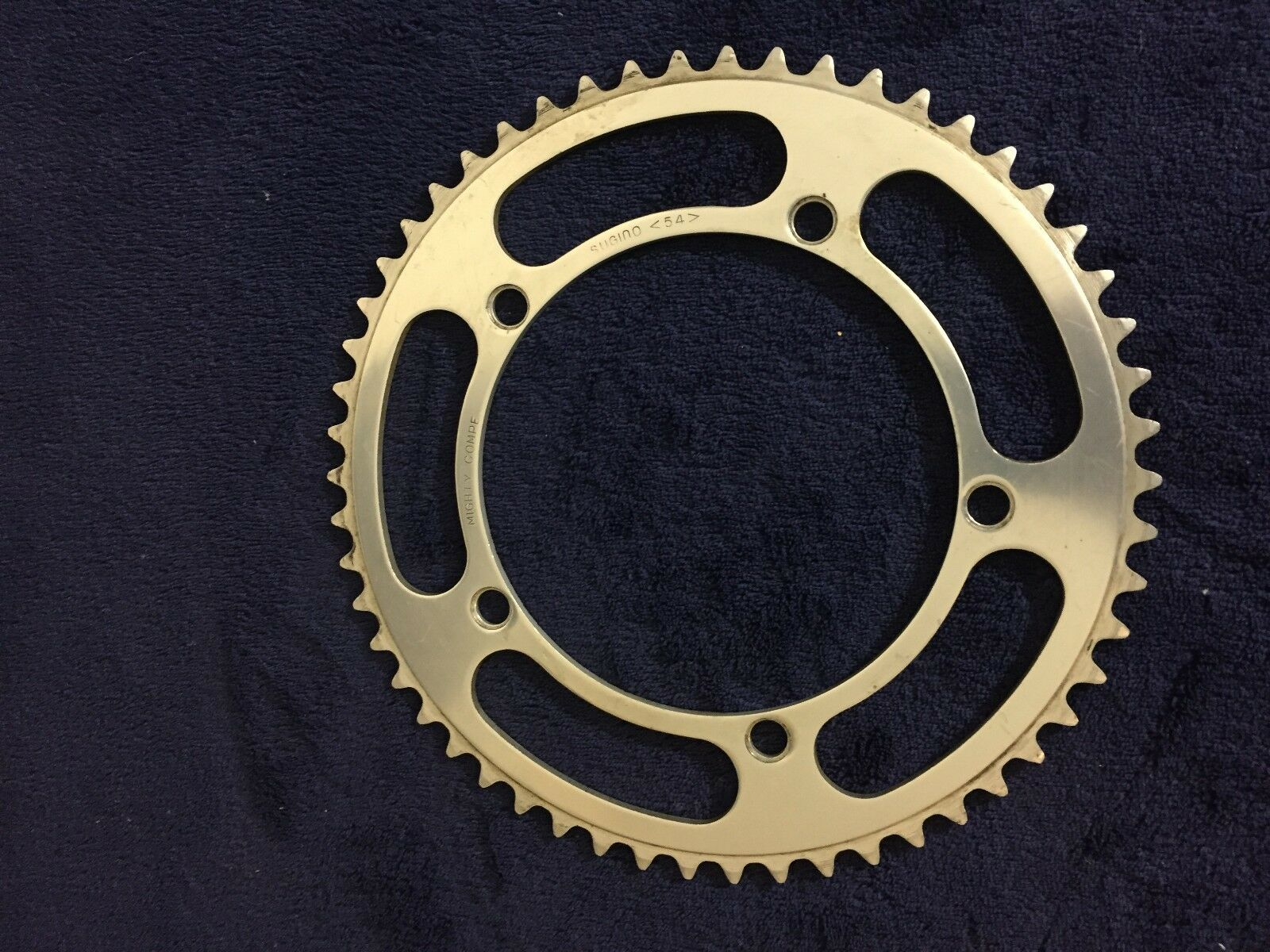 Vintage Sugino Mighty Compe 54t chainring 144 BCD
