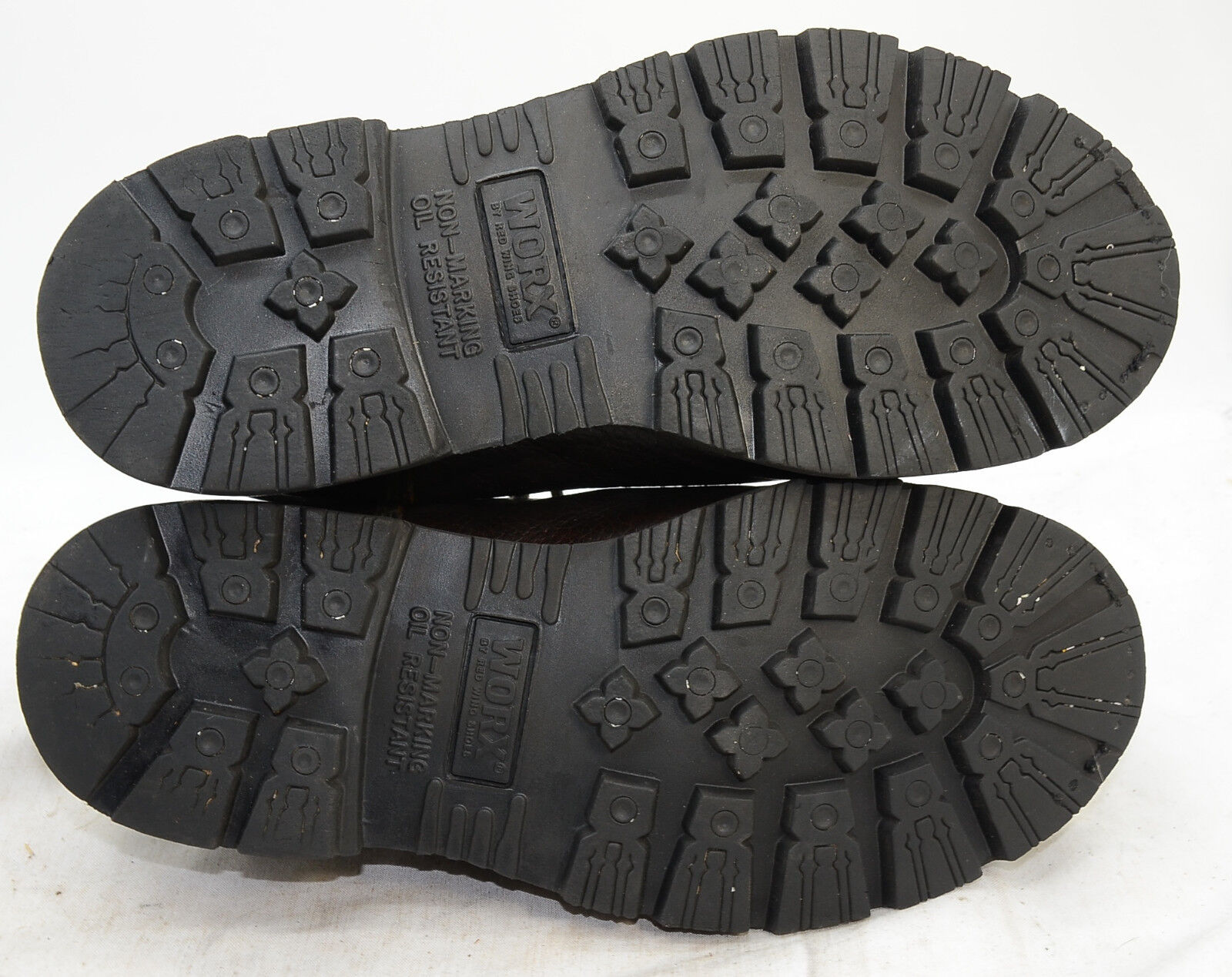 WORX by rot Wing schuhe Mens Sz 9 Steel Toe Toe Toe Biker Metguard Leather Work Stiefel 361225