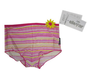 eleMar Bademode Badehose Mädchen Shorts Pink Kinder Gr.92,98,116,122,128