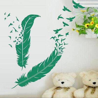 Fleur Sticker Déco XXL Planche Nature Florale Géant 40x40 cm à 60x60 cm