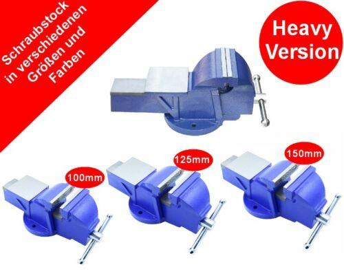 Étau avec Enclume Heavy Version 100 125 150 mm Parallèle Plan de Travail