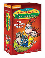 The Wild Thornberrys Complete Nickelodeon Series Seasons 1 2 3 4 5 DVD Boxed Set