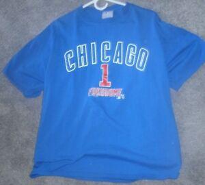 GENUINE-MLB-CHICAGO-CUBS-039-034-FUKUDOME-BLUE-T-SHIRT-039-SIZE-LARGE