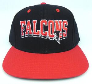 8bdb411c26c ATLANTA FALCONS NFL VINTAGE SNAPBACK RETRO 2-TONE FLAT BILL CAP HAT ...