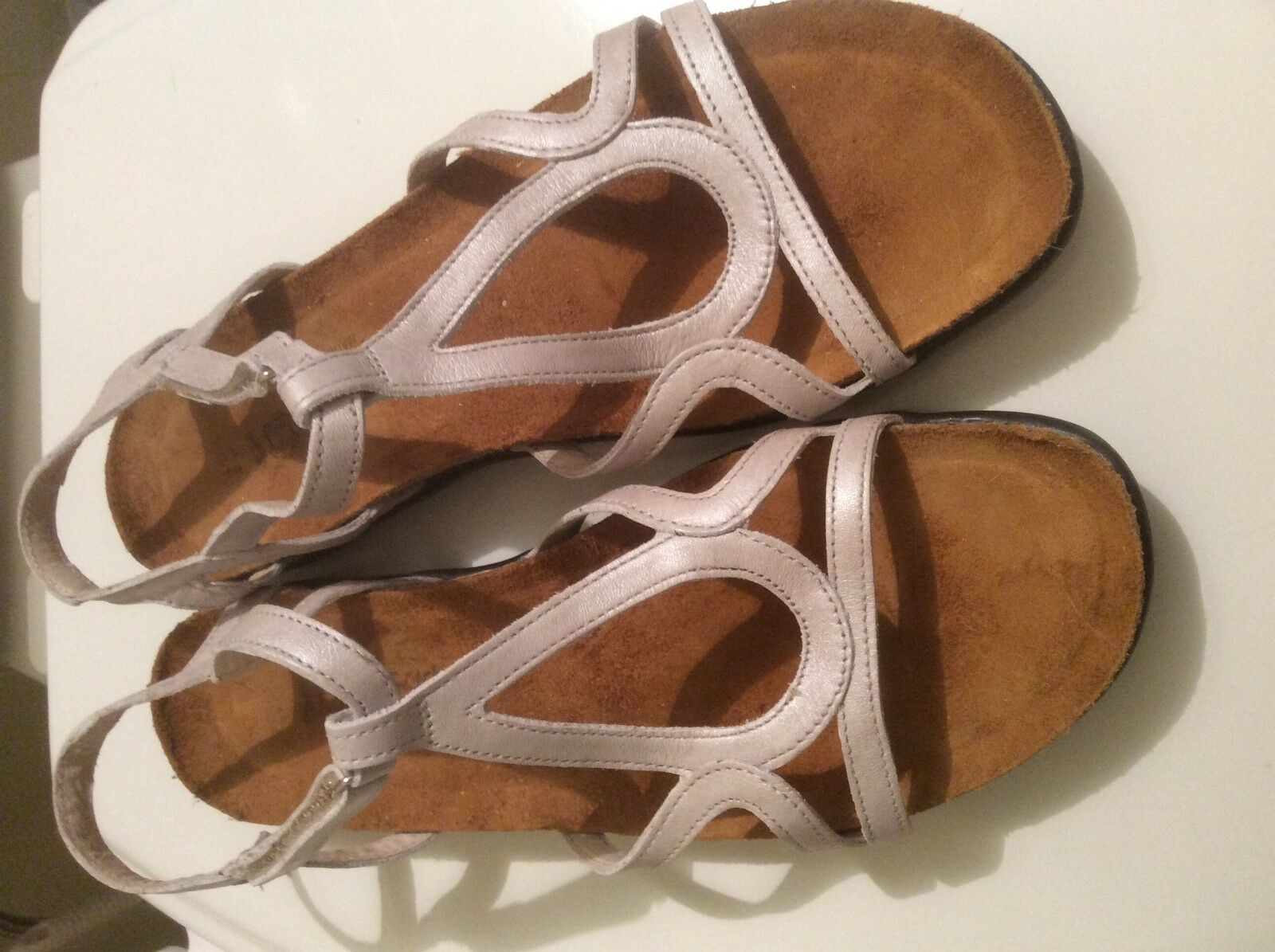 NAOT Dorith Strappy Sandal Leather NEW  store model display