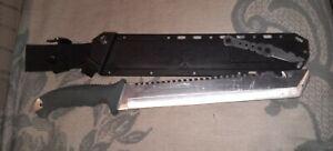 Machete survival knife