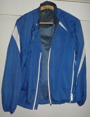 Crane Herren Sport Jacke, Gr. L/52-54, Blau-weiß Angenehme SüßE