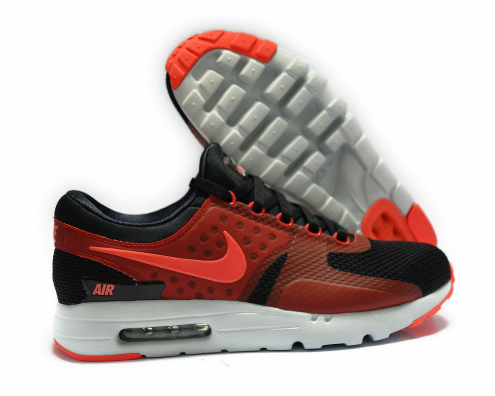Nike Air Max Zero Essential Uomo Classic Running Shoes 876070-007 Size 11 NEW