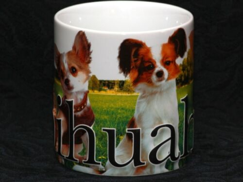 Stoneware Embossed Mug AMERICAWARE CHIHUAHUA My Pet 18 oz