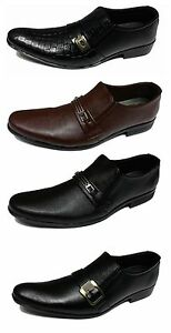Shumaxx-MEN-SHOES-Famous-MYFAIR-SLIP-ON-FORMAL-DRESS-MENs-Brown-BLACK