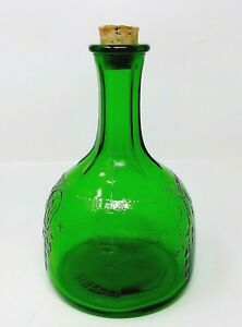 1931-Owens-Illinois-Whitehouse-Vinegar-Bottle-with-Cork-Depression-Era-Glass
