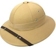 7b8e8b069a540 item 2 Safari Pith Khaki Deluxe Explorer Hunter Helmet Hat Fancy Dress  Adult -Safari Pith Khaki Deluxe Explorer Hunter Helmet Hat Fancy Dress Adult