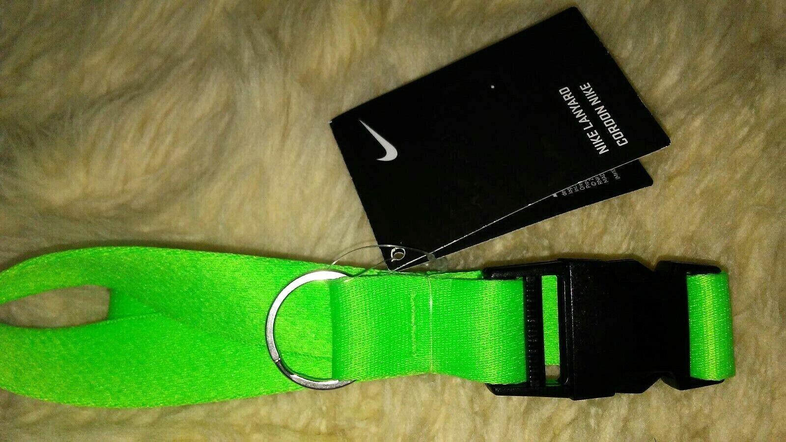 Green //Black, One Size NK Lanyard AC3582-385