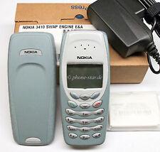 ORIGINAL NOKIA 3410 NHM-2NX HANDY RETRO MOBILE PHONE WAP SWAP NEU NEW BOX BLC-2