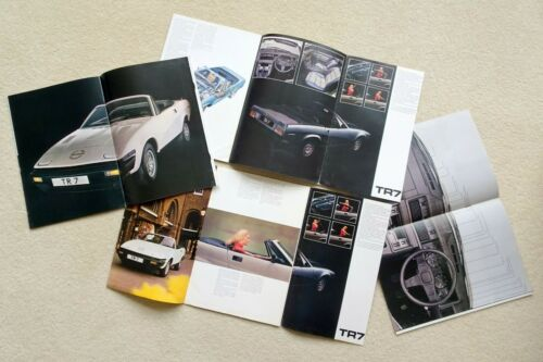 ROADSTER DROPHEAD TRIUMPH TR7 BROCHURE 1977-1978