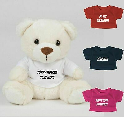 Personalised Teddy Bear Fathers Day Gift For Dad Birthday New Daddy Custom Text