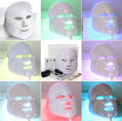 7 Colors Light Photon LED Photodynamics PDT Facial Mask Skin Rejuvenation RO