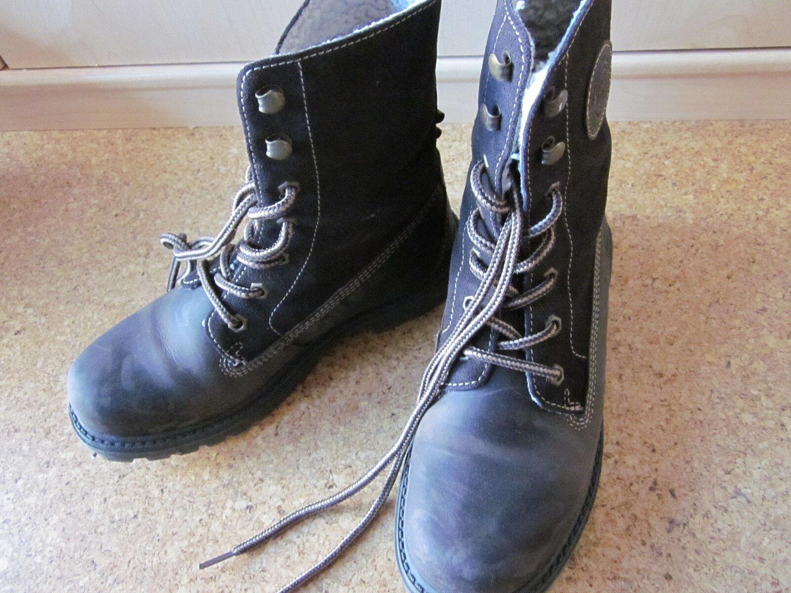 Dockers Winterstiefel Stiefel Stiefeletten Boots braun Gr. 39 top