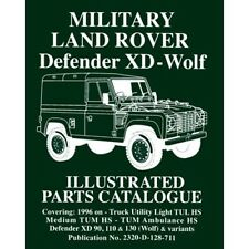 Land Rover Defender XD - Wolf Military Land Rover Parts Catalogue LRMWPC NEW