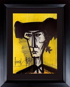 Bernard-BUFFET-Original-LITHOGRAPH-Limited-EDITION-Torero-1967-w-Custom-Frame
