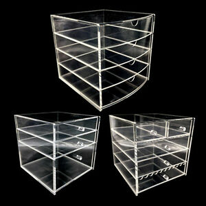 Cosmetic Organizer Acrylic Makeup case drawers box Jewelry storage