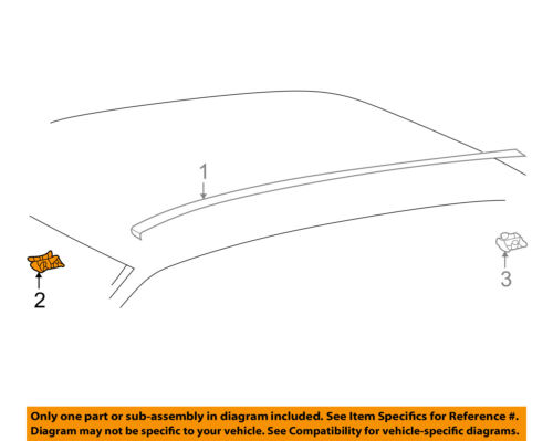 TOYOTA OEM 01-07 Highlander Roof-Drip Molding Clip 7556260020