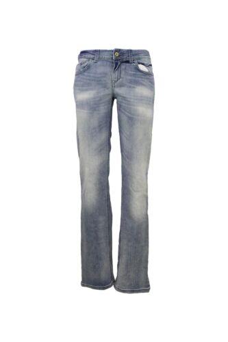 Jeans Donna MELTIN/'POT MANON Regular Fit Effetto Slavato