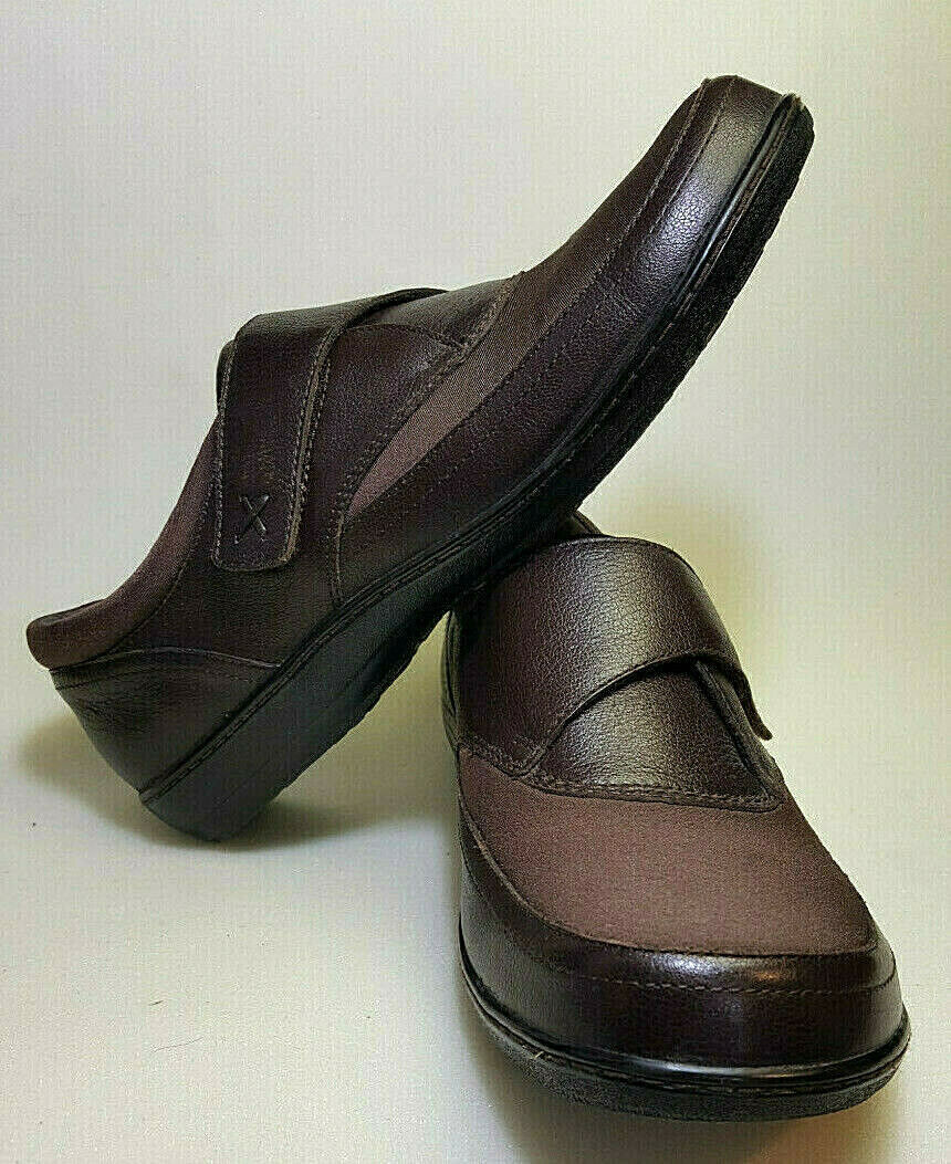 Berries by aetrex donna Orthotic Emma Monk Strap Sz 11M Cocoberry or  Mochaberry