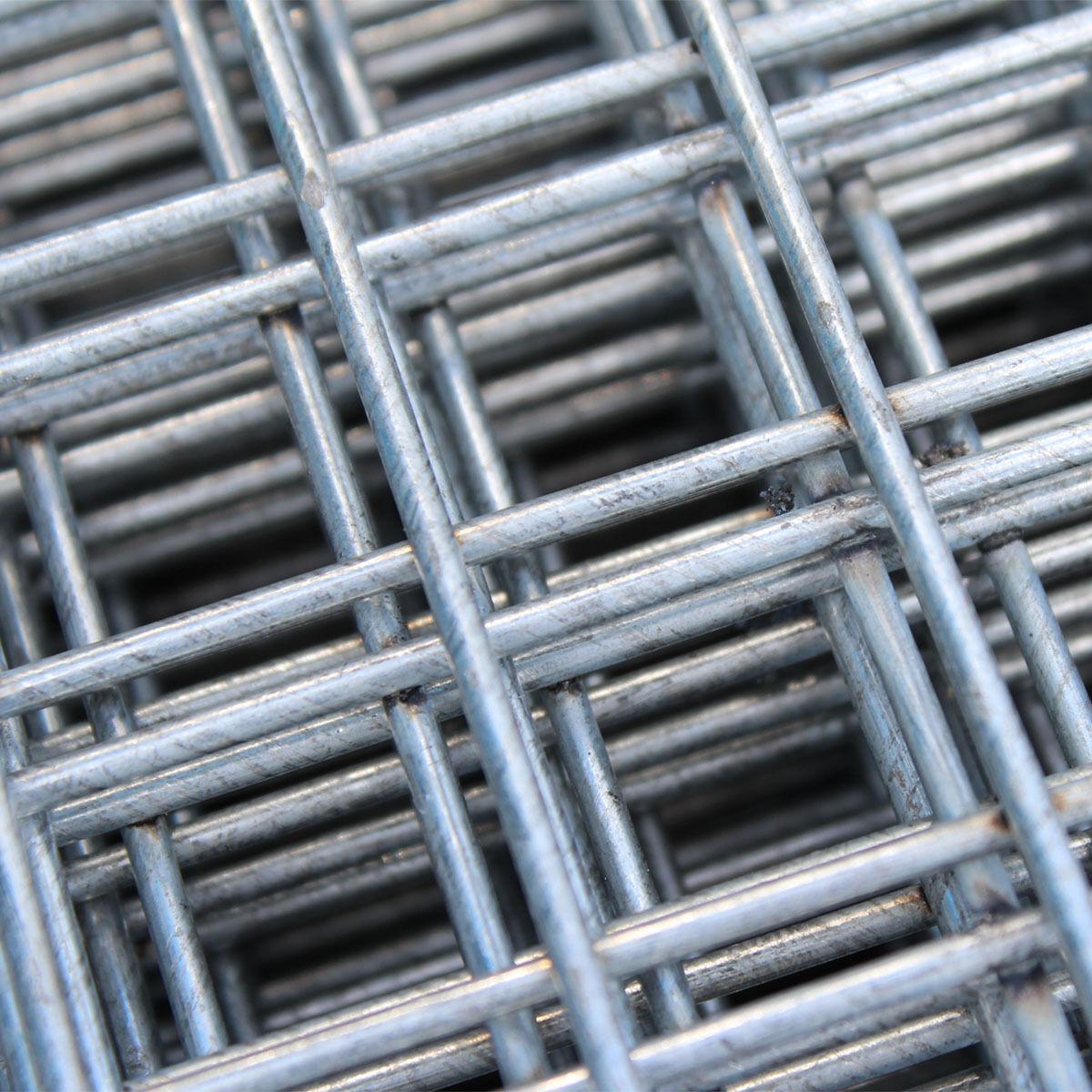 4 X Welded Mesh Panels 8x4ft 1x1\